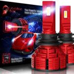 LIGHTENING DARK H11 led headlight bulb 16000 Lumens Nucleus Pro Adjustable Beam_01